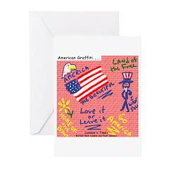 American Graffiti Greeting Cards (Pk of 20)
