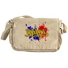 cp pinoy pride front Messenger Bag