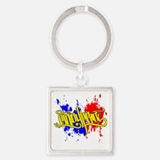 cp pinoy pride front Square Keychain