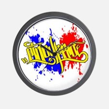 cp pinoy pride front Wall Clock
