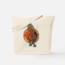 Kokopelli healing Tote Bag