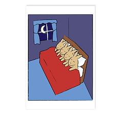 sleepingbunnies_rect Postcards (Package of 8)