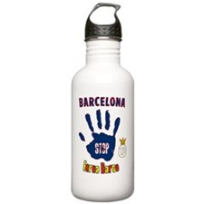 forca_barca_real Water Bottle
