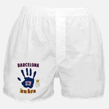 forca_barca_real Boxer Shorts