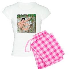 Tarzan and Jane Eyre Women's Light Pajamas