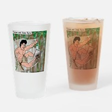 Tarzan and Jane Eyre Drinking Glass