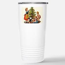 11 FELIX AND KIDS AND TREE Travel Mug
