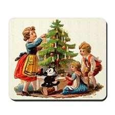 11 FELIX AND KIDS AND TREE Mousepad