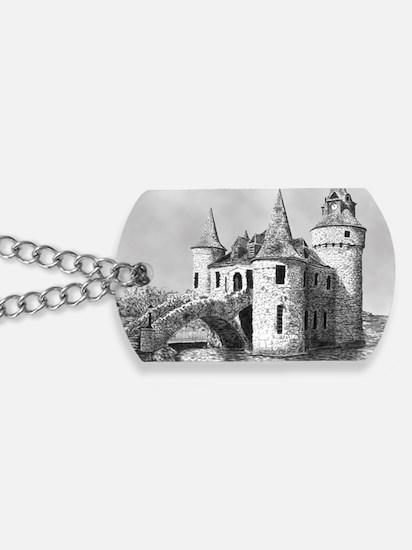 boldt castle 2x3_magnet Dog Tags