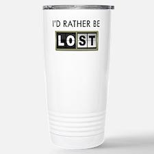 Id-rather-be-lost-2-(white-shir Travel Mug