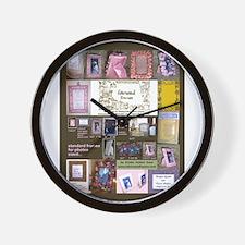 ColoredFrameCover.jpg Wall Clock