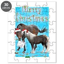 Caballo and Cisco Christmas Card Puzzle
