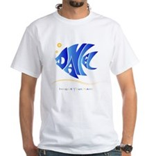 Daniel blue fish Shirt