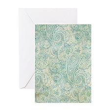 iPad-Jade Paisley Greeting Card