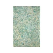 iPad-Jade Paisley Rectangle Magnet