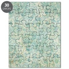 iPad-Jade Paisley Puzzle