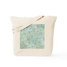 iPad-Jade Paisley Tote Bag