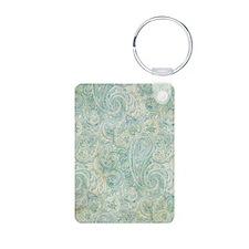 iPad-Jade Paisley Keychains