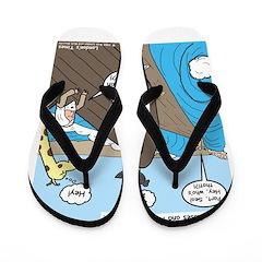 Noah and Moses Flip Flops