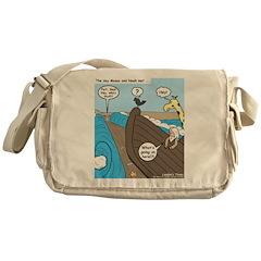 Noah and Moses Messenger Bag