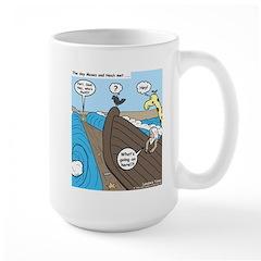 Noah and Moses Large Mug