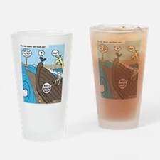 Noah and Moses Drinking Glass