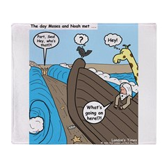 Noah and Moses Throw Blanket