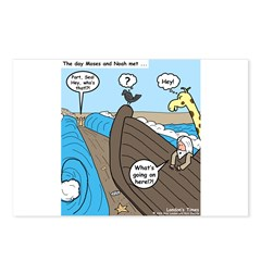 Noah and Moses Postcards (Package of 8)