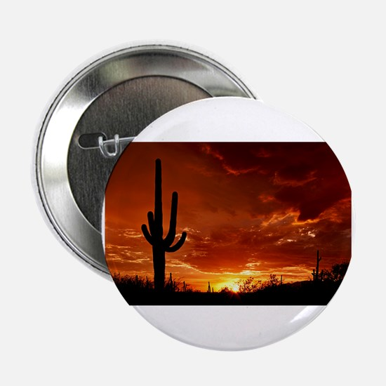 "Saguaro Sunset-2 2.25"" Button"