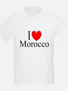 """I Love Morocco"" Kids T-Shirt"