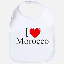 """I Love Morocco"" Bib"
