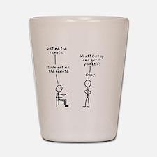 sudo-get-me-remote-mug Shot Glass