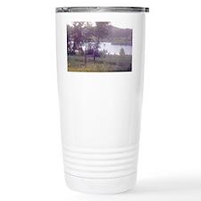 Landscape water scene note card Travel Mug