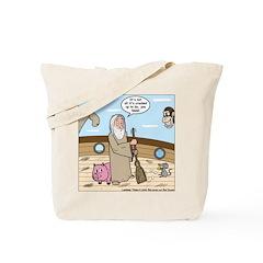 Noah as Janitor Tote Bag