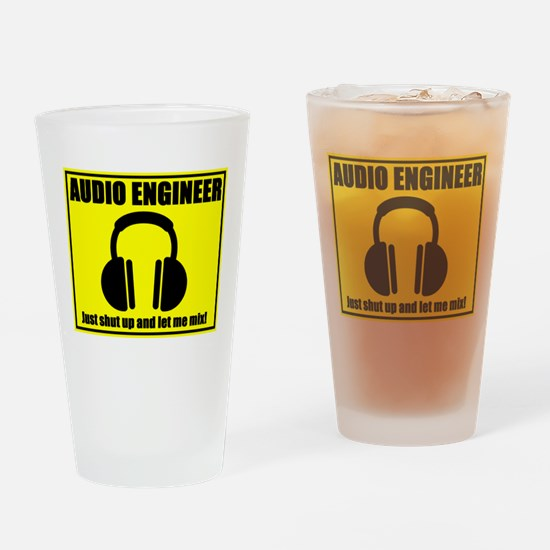 Let Me Mix Drinking Glass