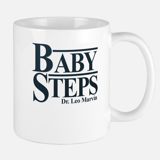 Baby Humor Baby Steps Stainless Steel Travel Mugs