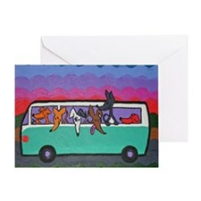 GoGreyhound Greeting Card
