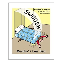 Murphys Law Bed Posters