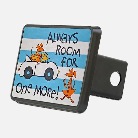 RoomforOneMoreCafepress Hitch Cover
