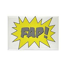 FAP-gray50-stroke Rectangle Magnet