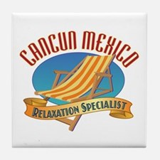 Cancun Relax - Tile Coaster