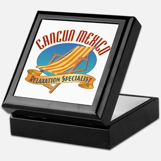 Cancun Relax - Keepsake Box