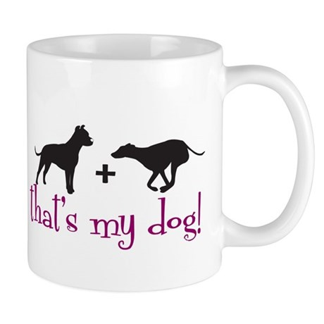Pit/Greyhound Mug
