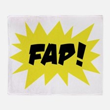 FAP-dark Throw Blanket