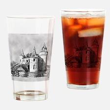 boldt castle tile box Drinking Glass
