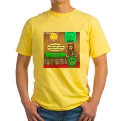 Hippie Funeral Yellow T-Shirt