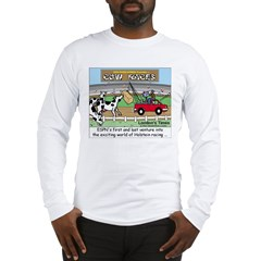 Cow Races Long Sleeve T-Shirt