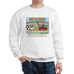 Cow Races Sweatshirt