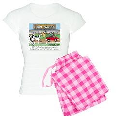 Cow Races Pajamas