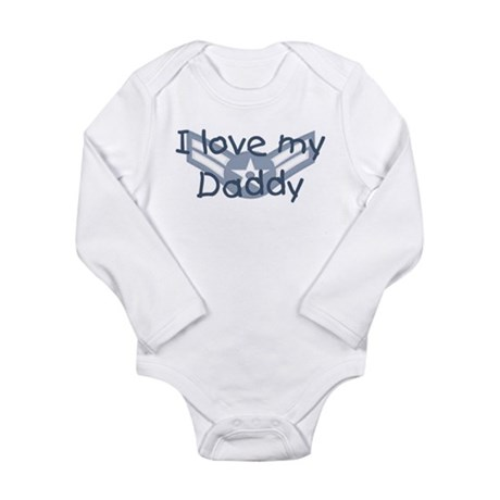 E3 USAF I love my daddy blue Body Suit